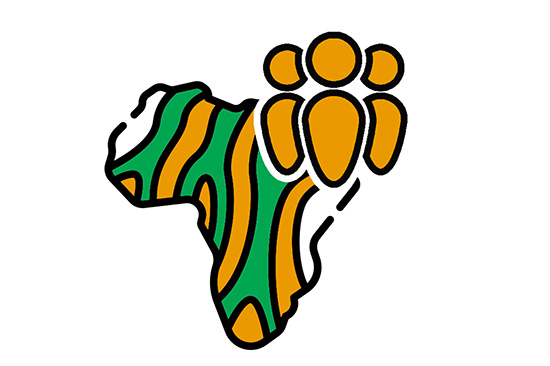 ACHPR Guidelines on freedom of association and assembly cover image - Green and yellow illustration of African continent with a group of people icon.