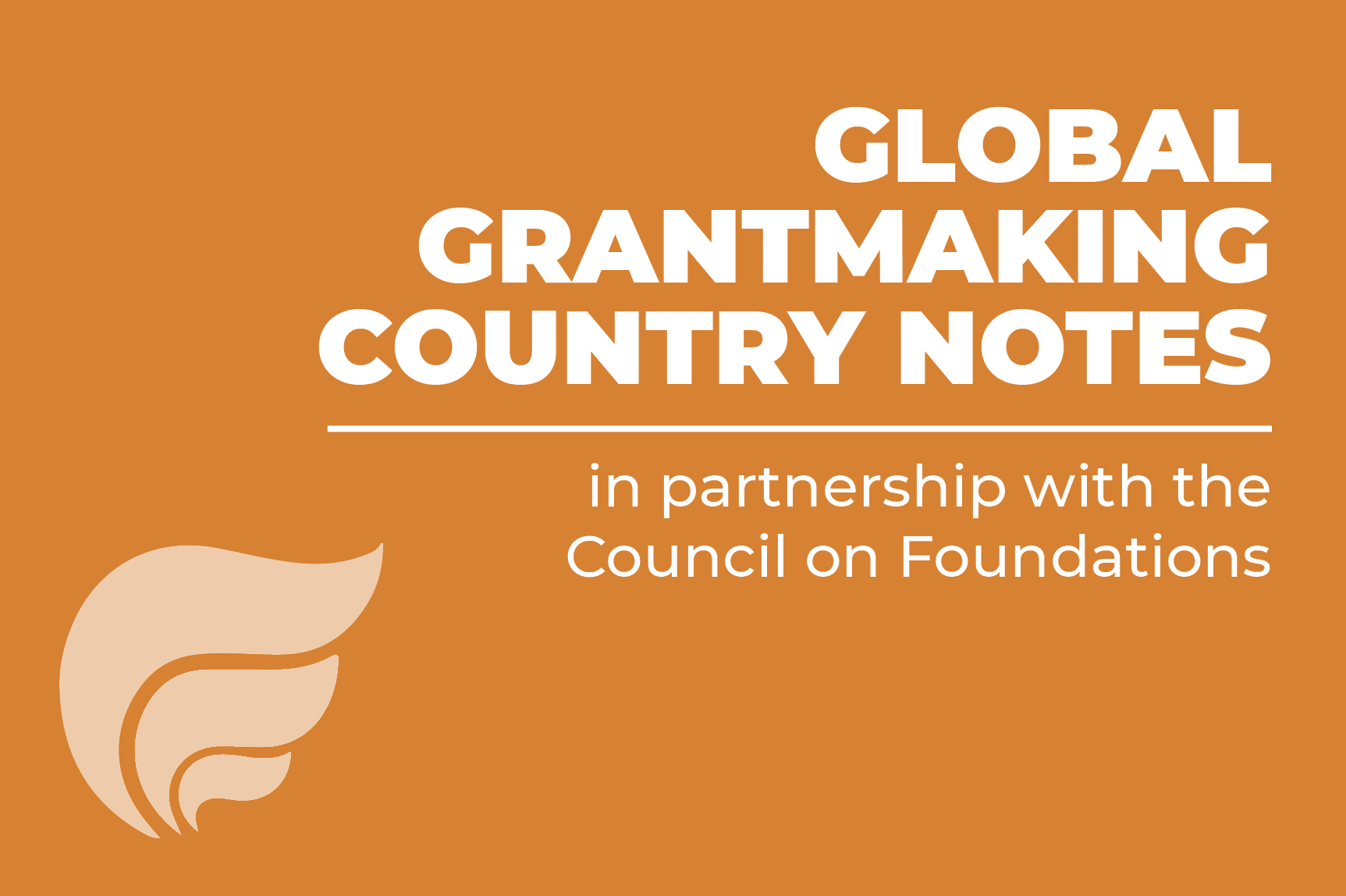 ICNL's Global Grantmaking Country Notes: A guide produced for the Council on Foundations for U.S. international grantmakers.
