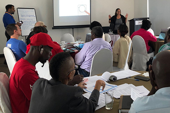 ICNL facilitates multi-sector dialogue on potential reforms to the legal framework for social enterprise in Jamaica. (Photo: ICNL)