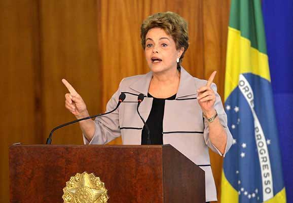 Brazilian president Dilma Rousseff (photo credit: Wikimedia Commons)