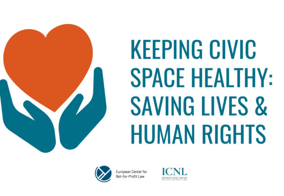 ECNL ICNL Keeping Civic Space Healthy Graphic