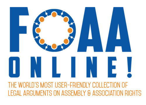 FOAA Online - old logo file with sun and blue lettering