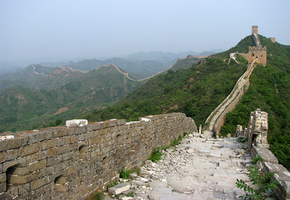 The Great Wall of China (Photo Credit: Peter Dowley)