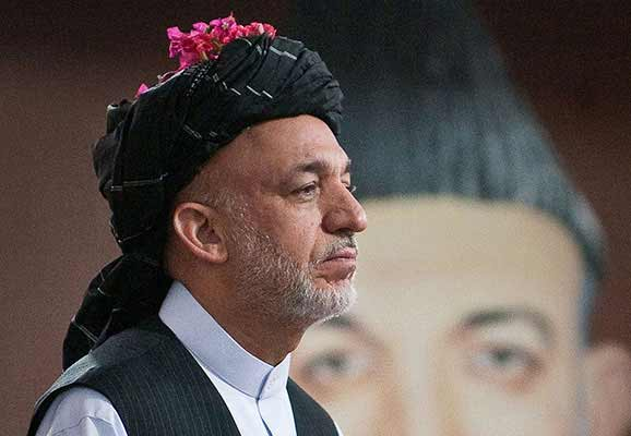 Afghanistan president Hamid Karzai (photo credit: Wikimedia Commons)