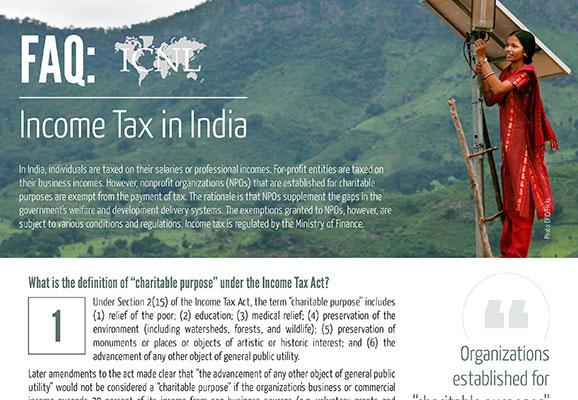 FAQ: Income Tax in India
