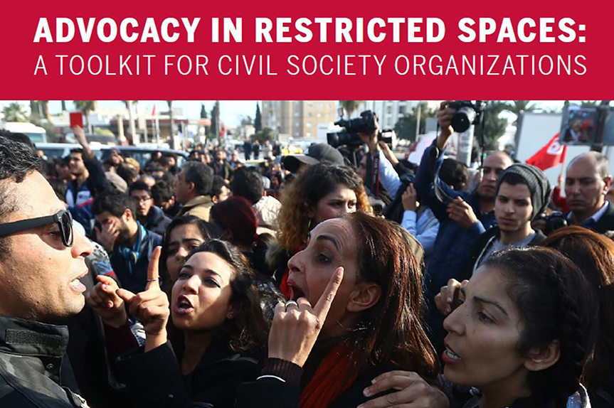 Lifeline Advocacy in Restricted Spaces Toolkit cover image