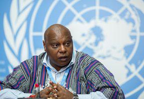 UN Special Rapporteur Maina Kiai (photo credit: Jeff Vize)
