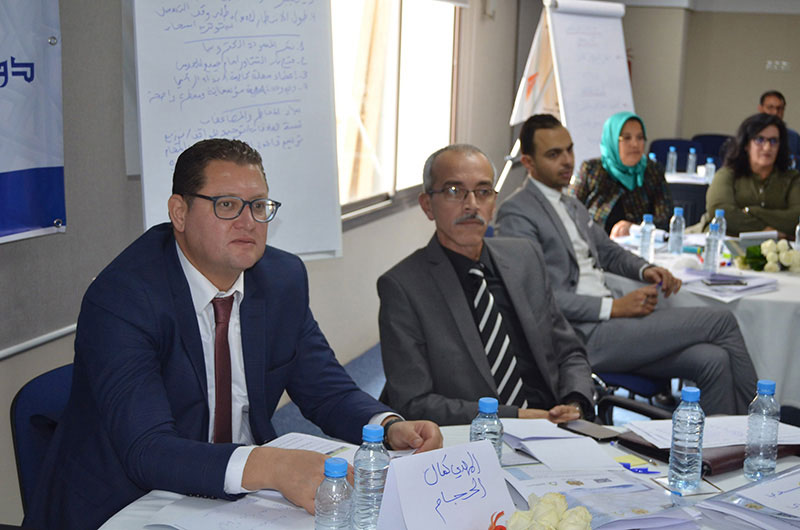 ICNL training for members of Morocco's House of Councillors, November 2017, Rabat (Photo: ICNL)