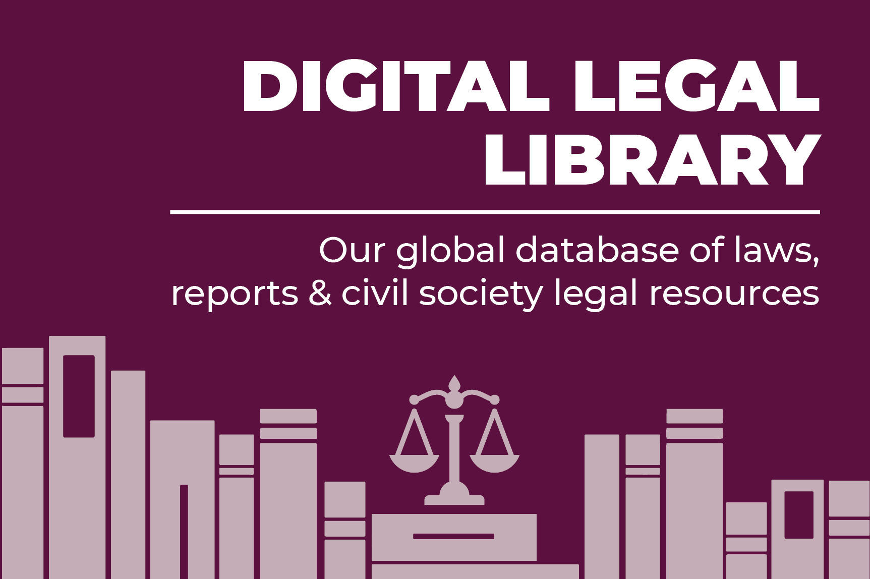 ICNL's Digital Legal Library - landing page button