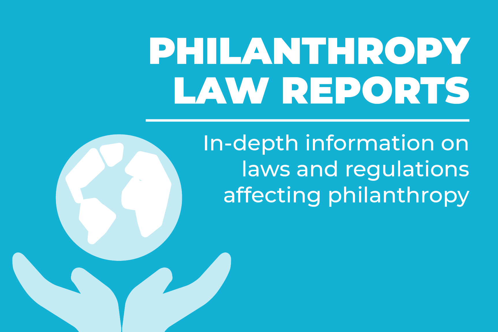 ICNL's Philanthropy Law Reports - landing page button