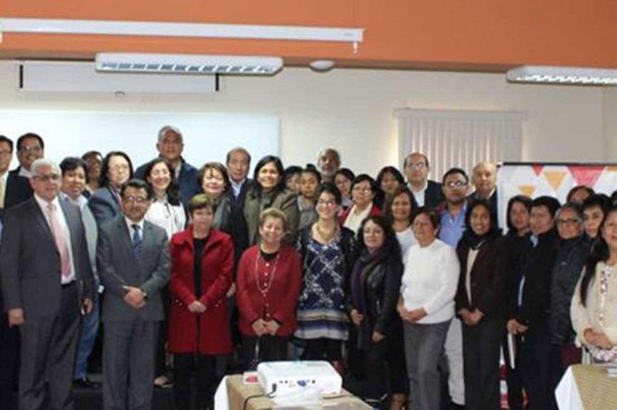 "Peruvian NGOs and APCI officials met to discuss improvements needed to the registration process"" Lima, Peru. July, 2018. (Credit: Asociacion Nacional de Centros - ANC)"