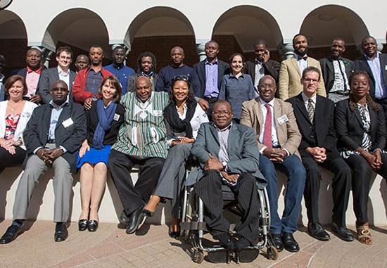 Participants at the African Regional Workshop on Protecting Civic Space (photo: Jeff Vize)