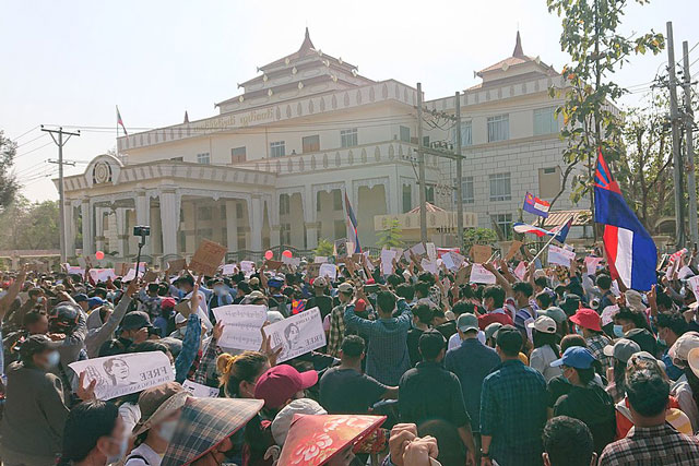 Malaysia protest (photo credit: Wiki Commons)