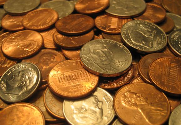 U.S. coins (Photo: Skeeze/Pixabay)
