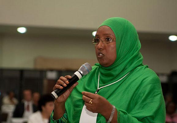 Sophia Abdi Noor, Chair of the PBO Task Force (photo credit: Inter-Parliamentary Union/Flickr)