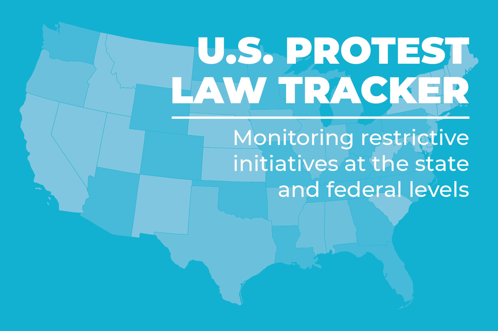ICNL's U.S. Protest Law Tracker - landing page button
