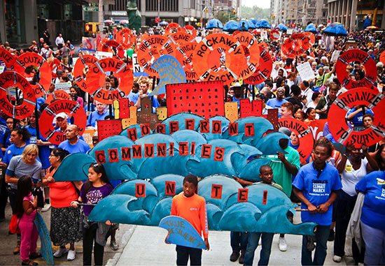 People's Climate March in New York, 2014 (photo credit: Joe Brusky)