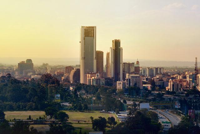 Nairobi skyline (photo credit: unsplash.com)