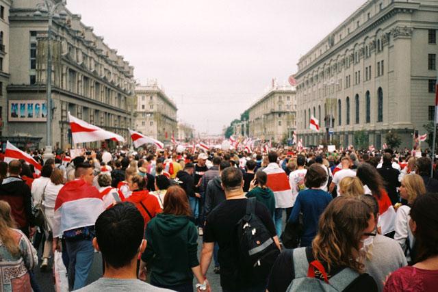 Protest in Belarus (credit: unsplash.com)