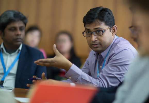 UNSR meeting with civil society and human rights defenders on Asia issues in March 2019 (Photo: Jeff Vize)