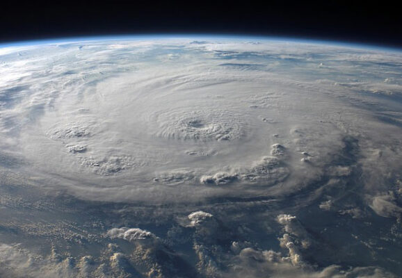 hurricane from space (photo credit: pixabay.com)