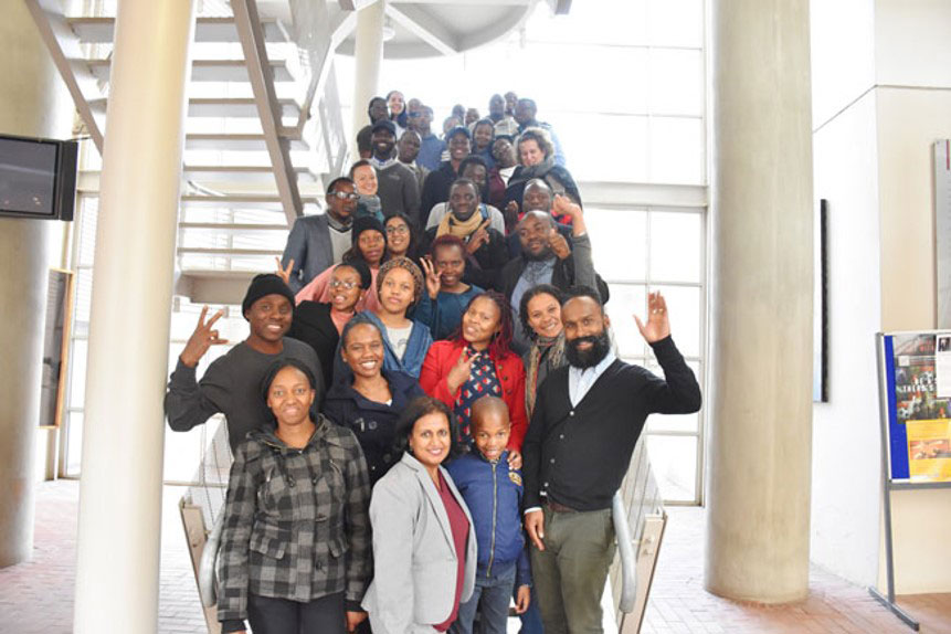 Graduate students and civil society practitioners attending the ICNL-Centre for Human Rights-organized advanced human rights course on Civil Society Law in South Africa, July 2017 (Photo: Centre for Human Rights, University of Pretoria)