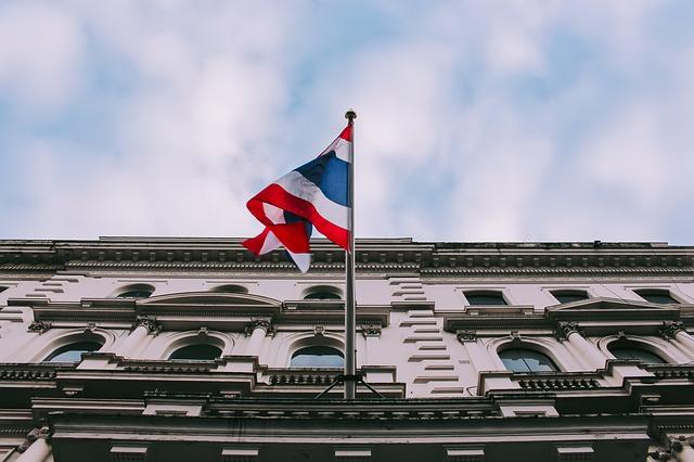 Thailand flag on building (photo credit: pixabay.com)