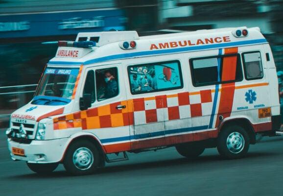 india ambulance (credit: unsplash.com)