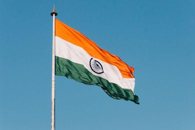 India flag (credit: unsplash.com)
