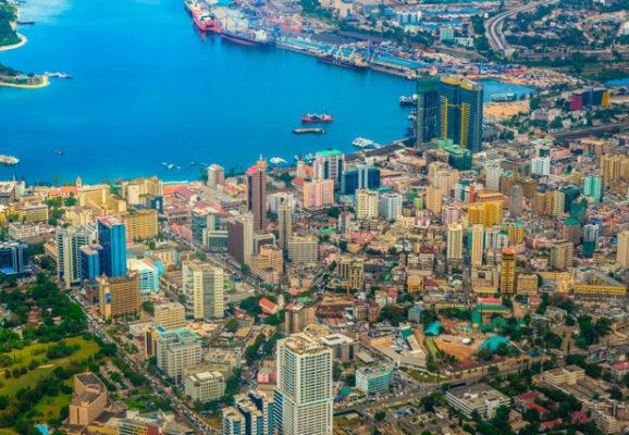 Dar es Salaam, Tanzania city sky view (photo credit: unsplash.com)