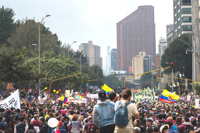 protest Colombia (credit: unsplash.com)